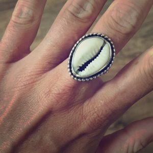 Handmade Shell Ring